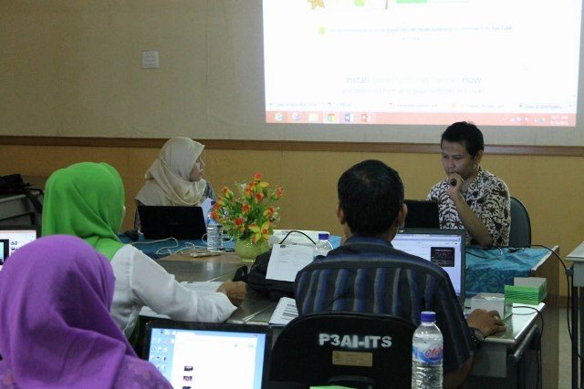 Workshop Guru Daring SMA Se Surabaya @ P3AI ITS 19 Sep 2015